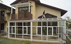DIY阳光房样板安装