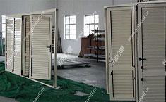 铝合金百叶折叠门