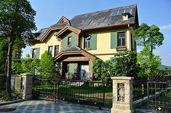 哪种铝门窗适合别墅用?
